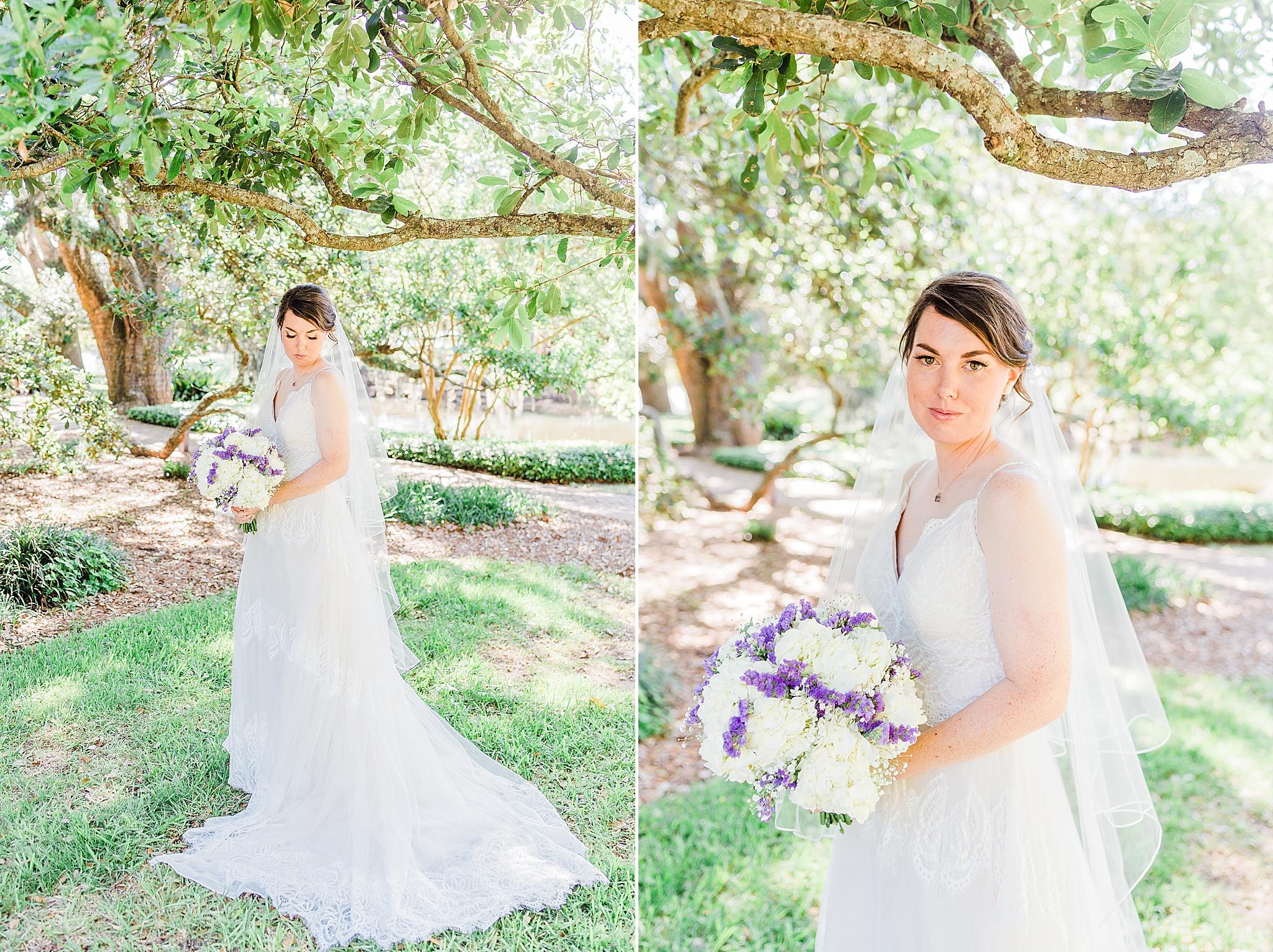 Little Point Clear Inn & suites bridal portraits