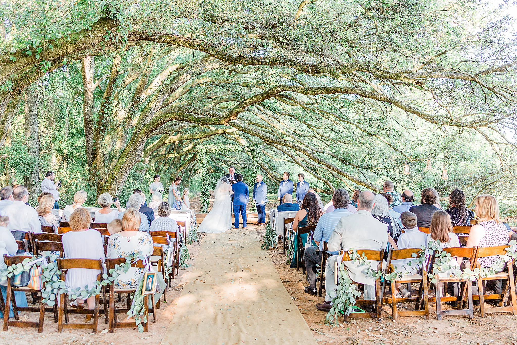 outdoor ceremony in Fairhope AL