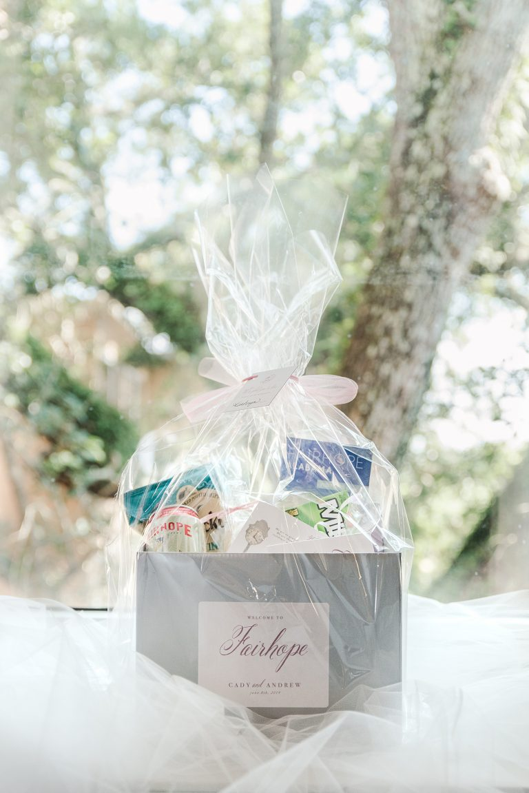 Goodie and Smith Weddings photograph out of town welcome bags