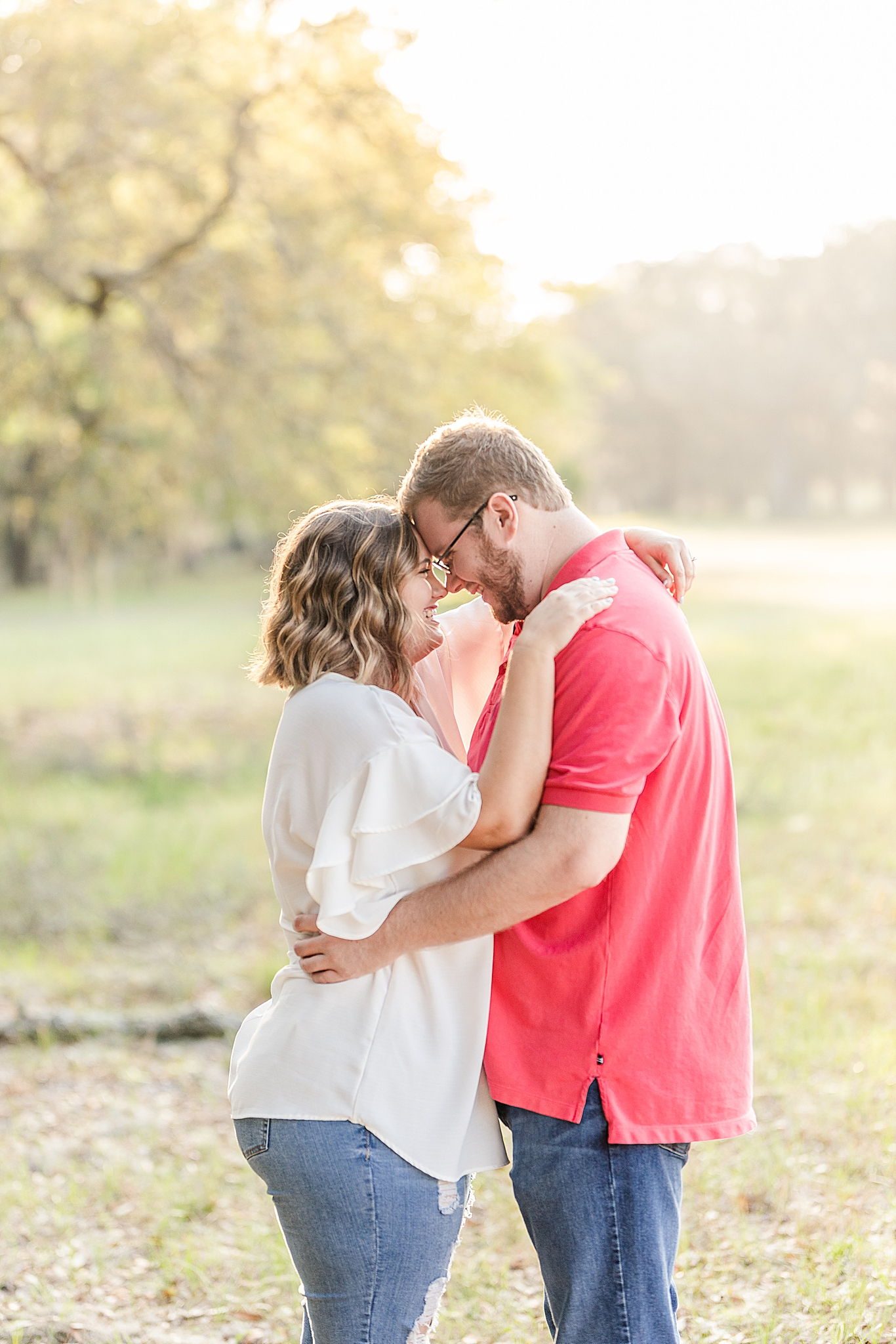 spring Gulf State Park engagement session