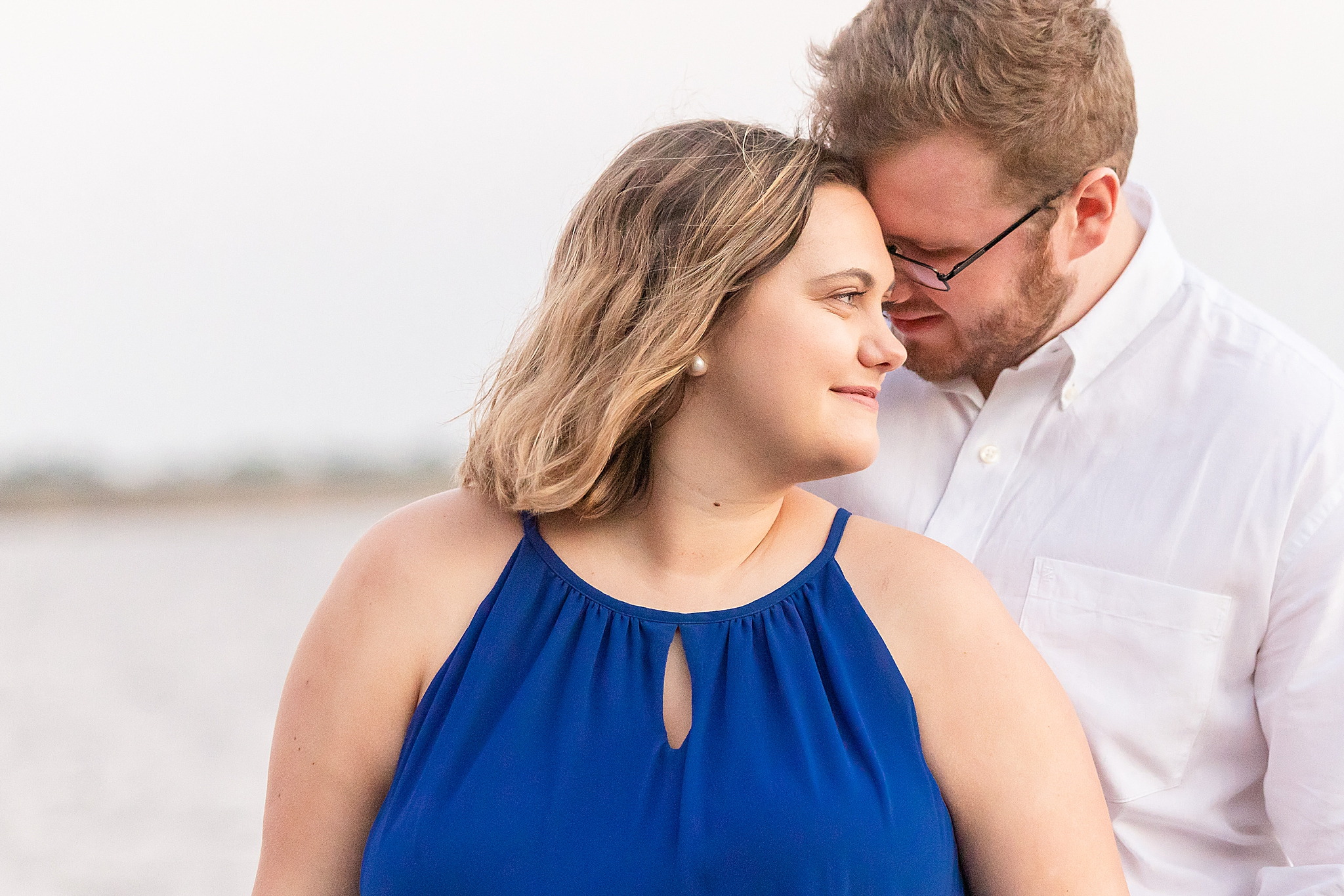 engagement portraits along the Gulf in Alabama