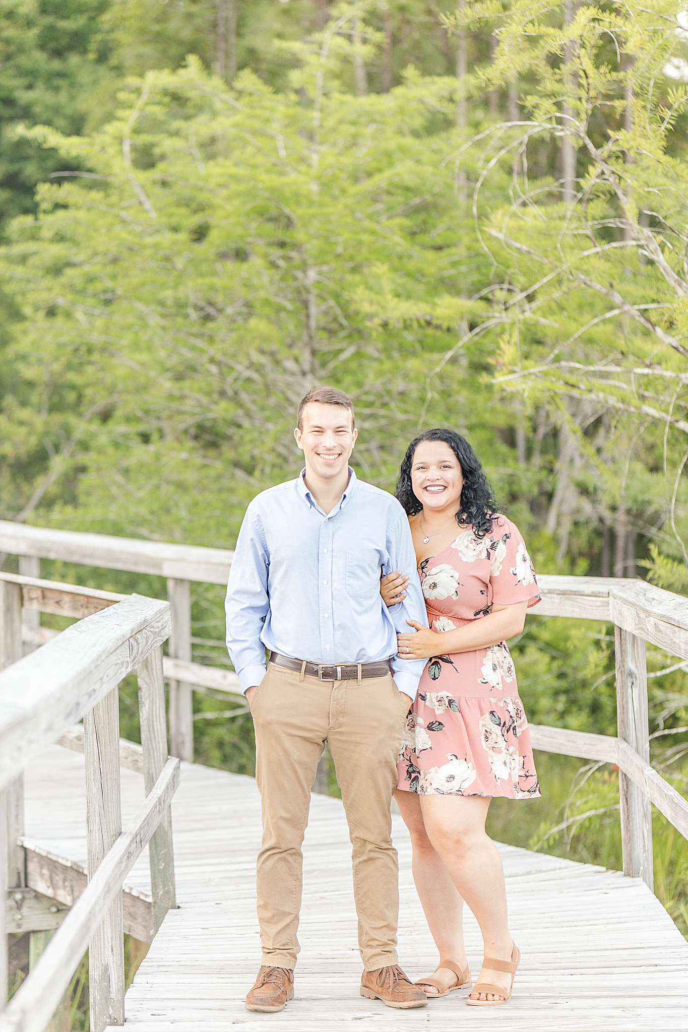 Bienville Square engagement session in Alabama