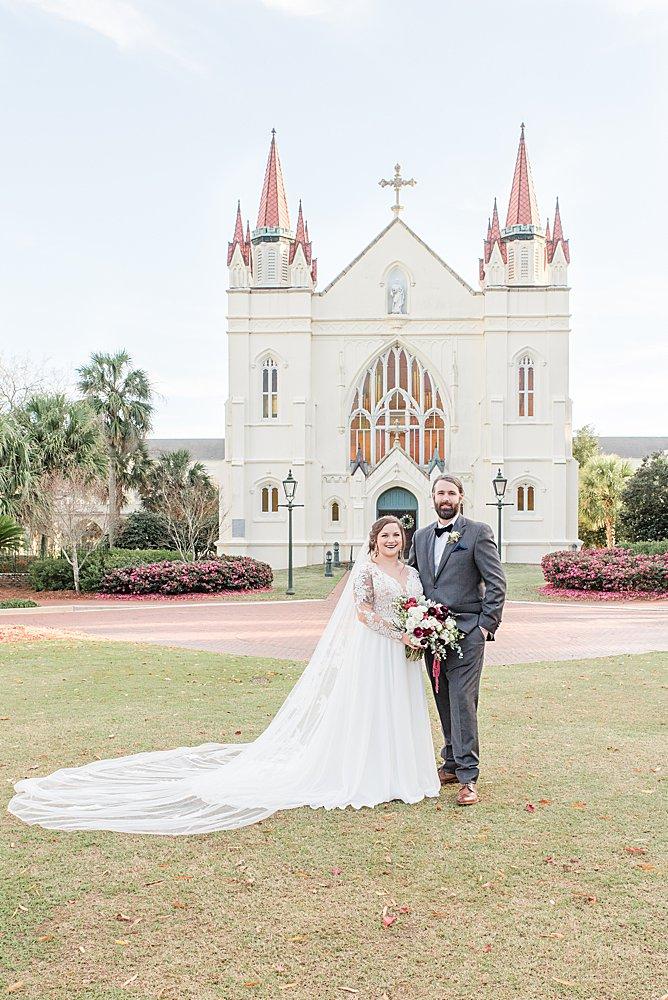 St. Joseph Chapel Wedding in Mobile, Alabama