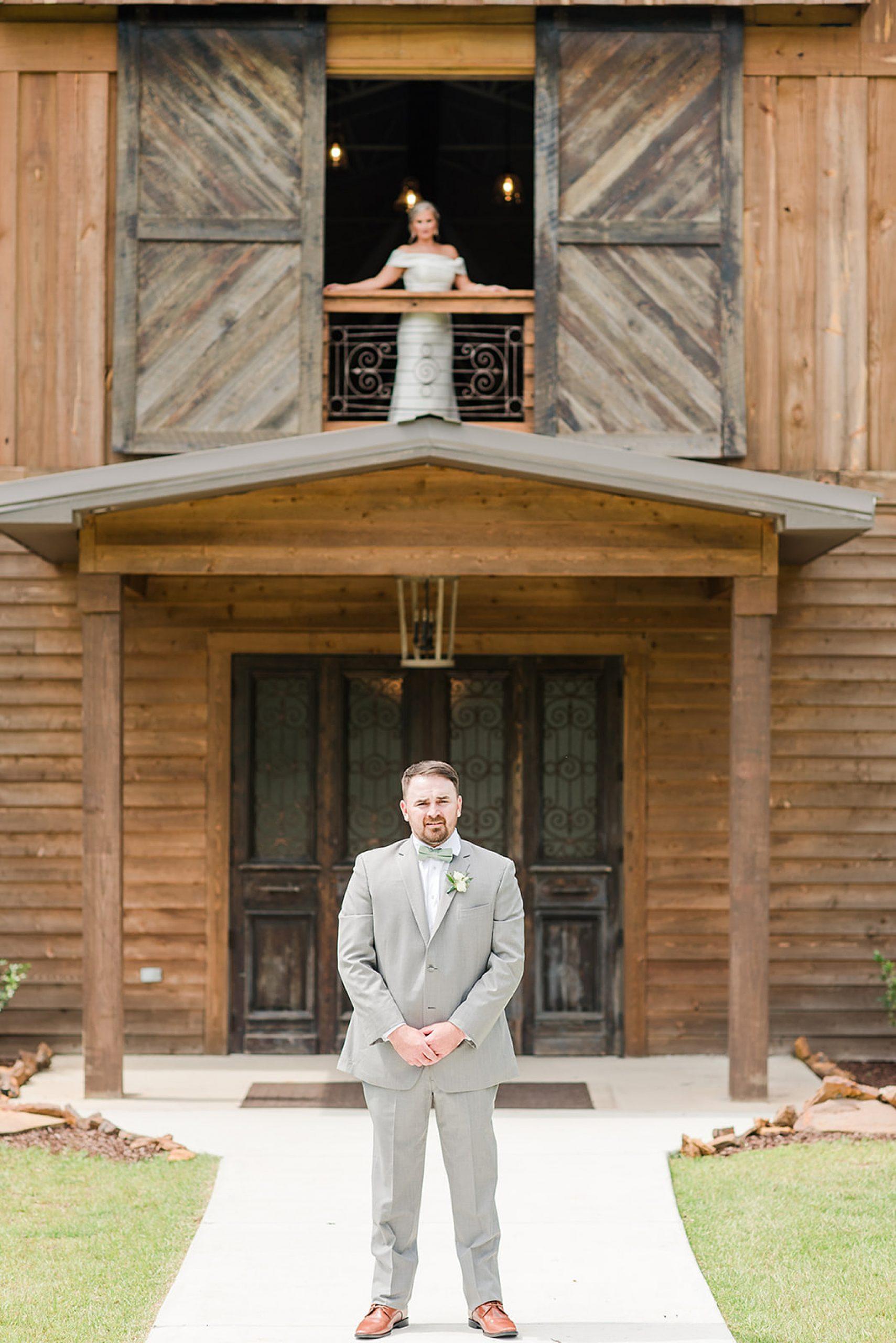 first look before Izenstone Summer wedding