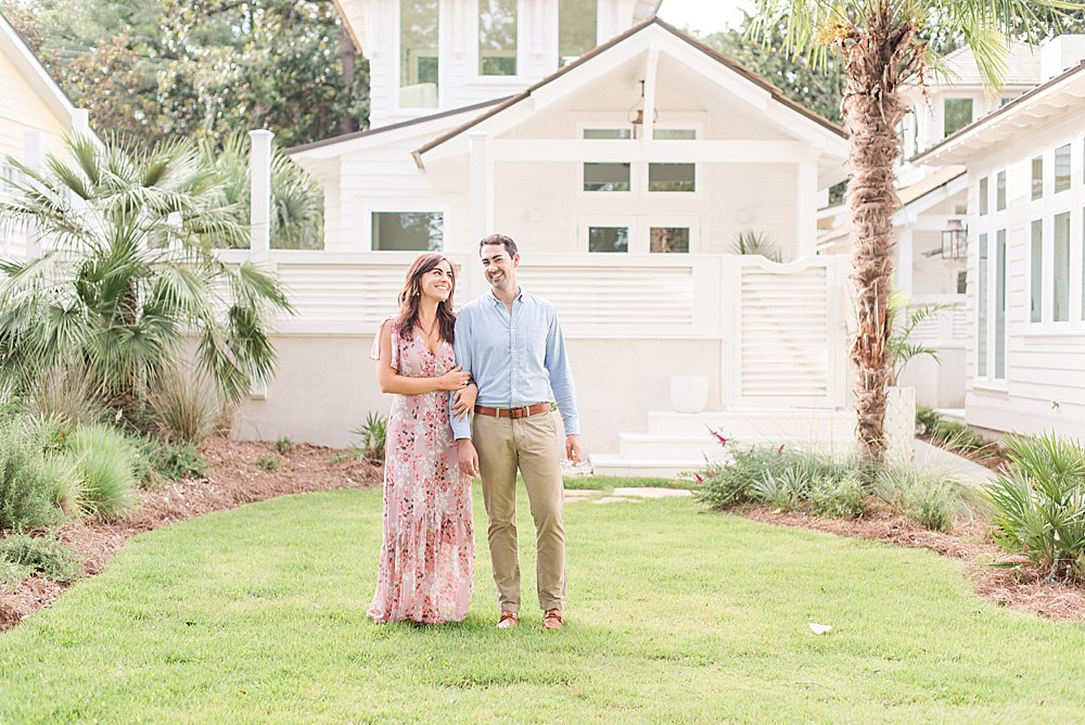relaxed Fairhope Alabama engagement session with full-service wedding photographers Goodie and Smith Weddings