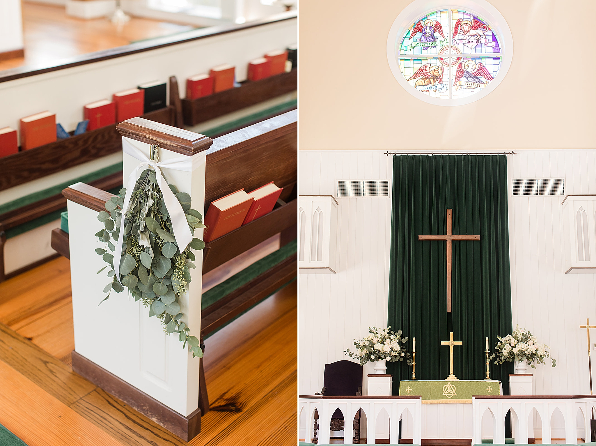 St. Francis at the Point wedding decor