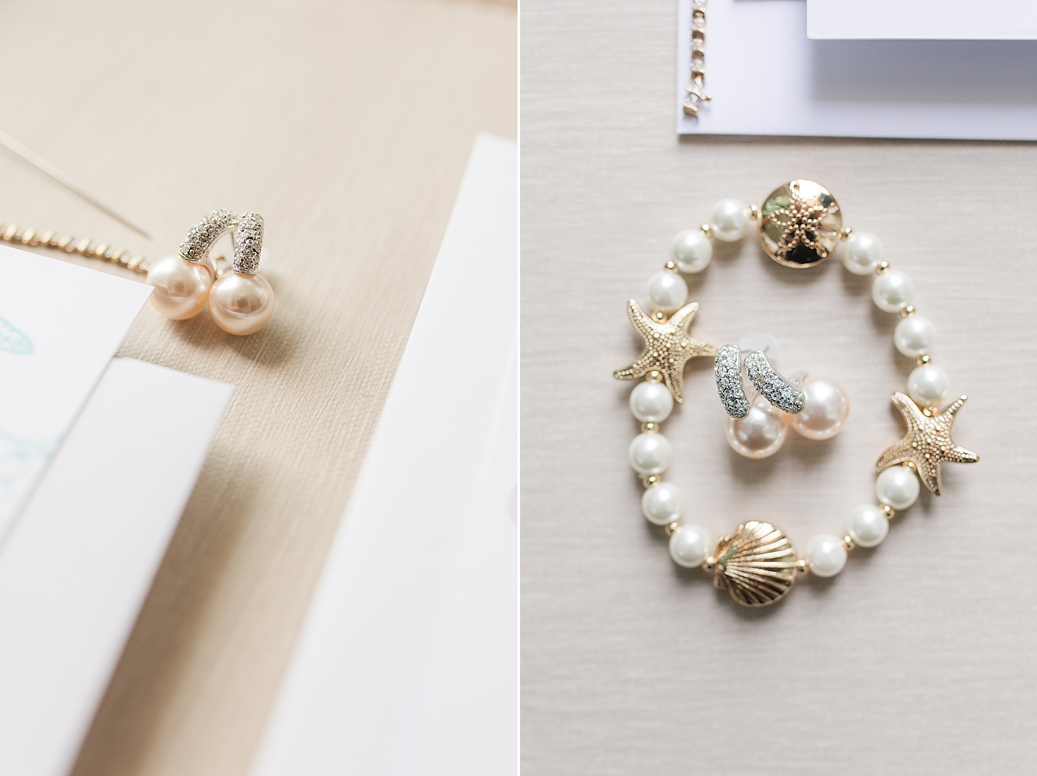 bride's jewelry for Gulf Shores Wedding Chapel wedding