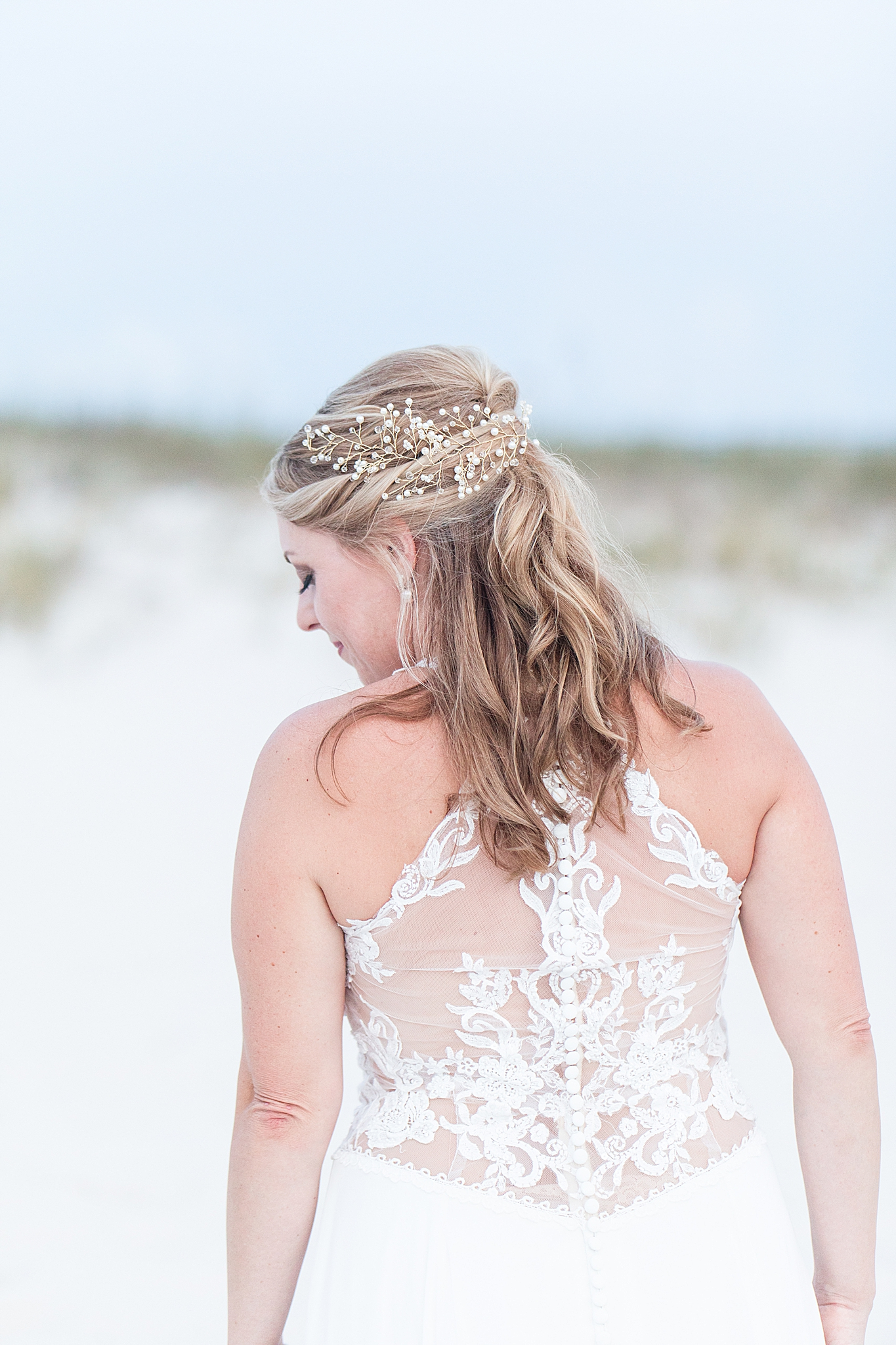 Orange Beach AL bridal portraits with Goodie & Smith Weddings