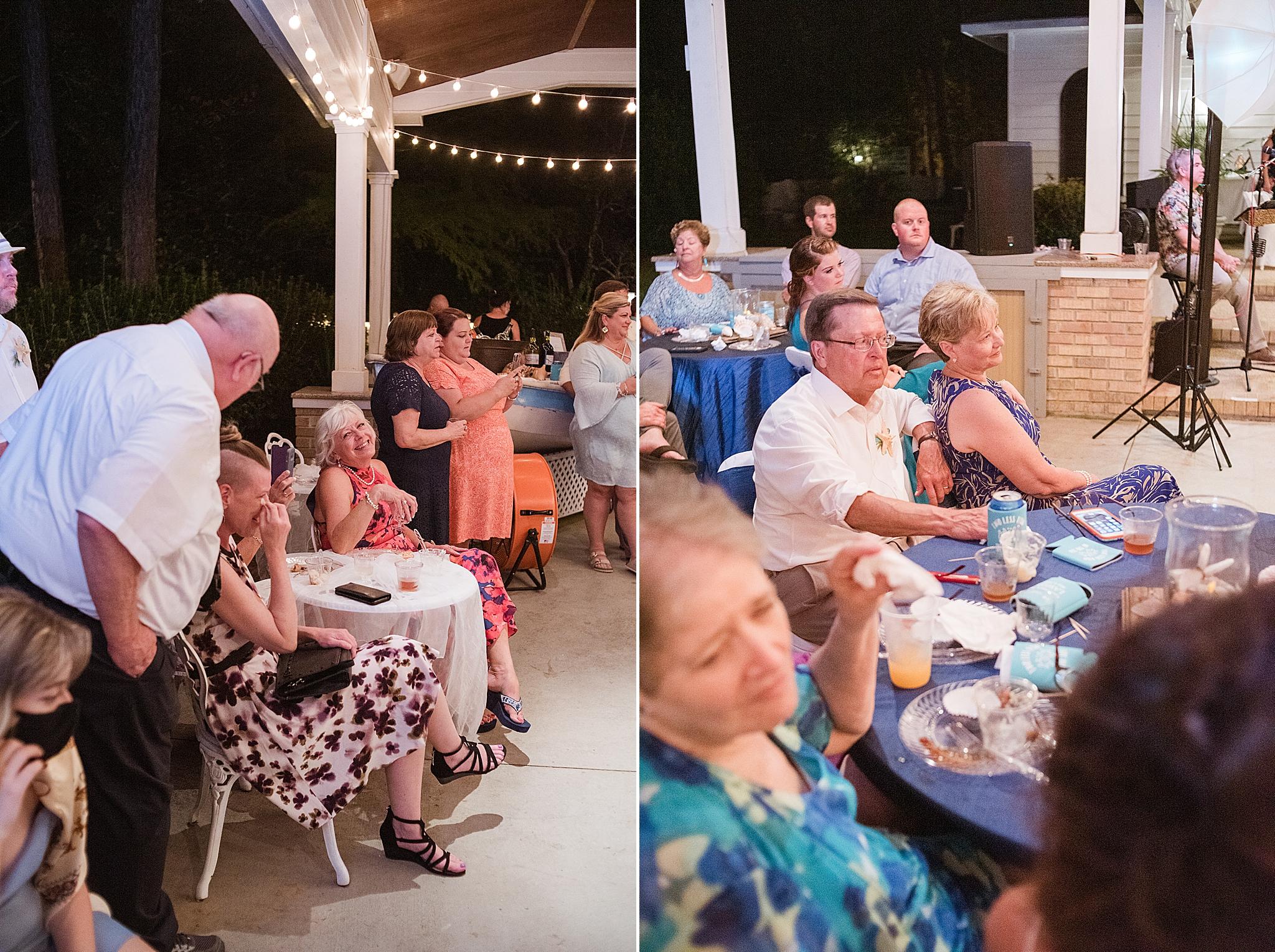 Gulf Shores wedding day reception