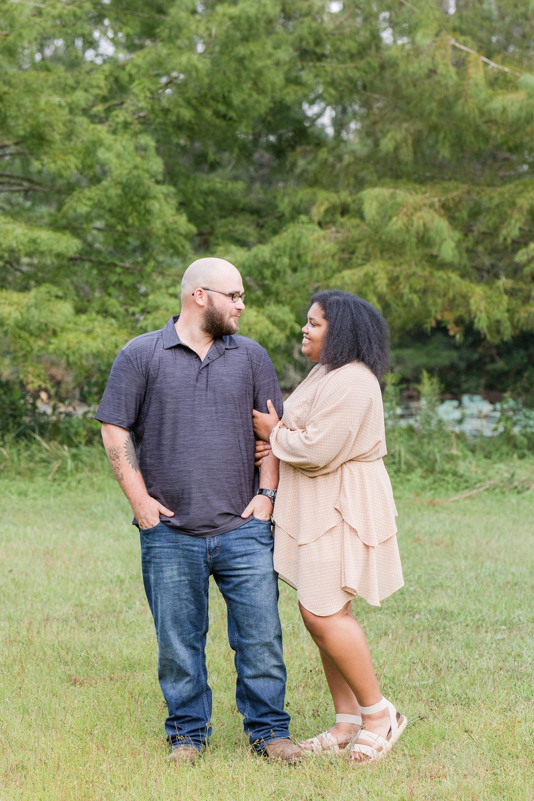 Mobile AL engagement portraits with Goodie & Smith Weddings