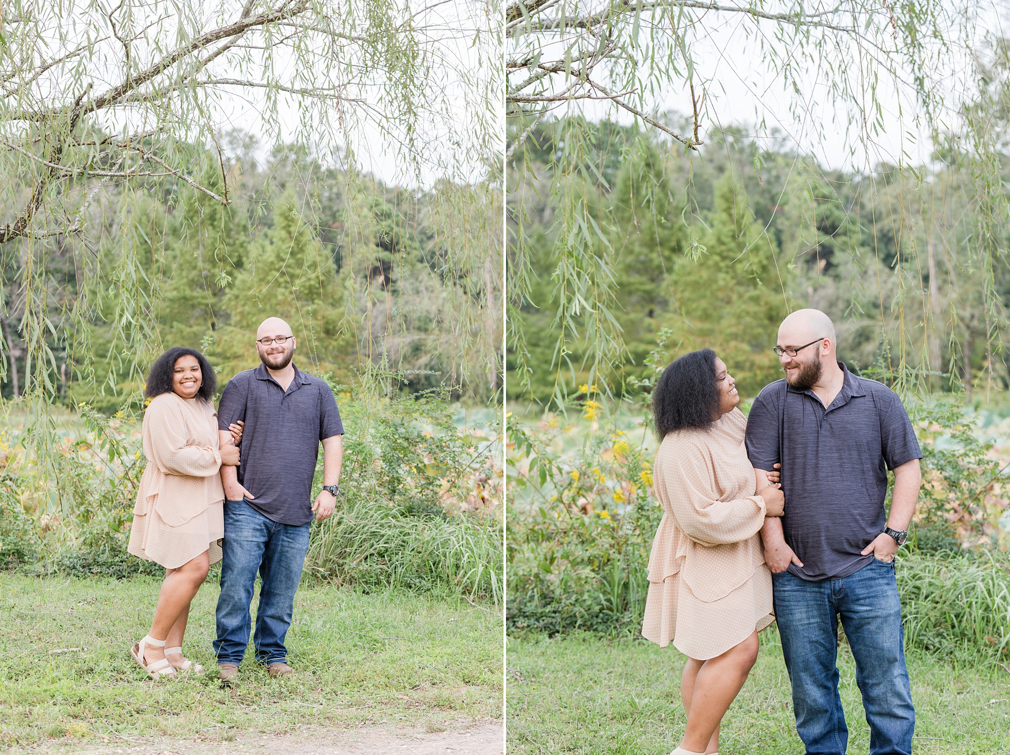 engagement portraits in Mobile AL with Goodie & Smith Weddings