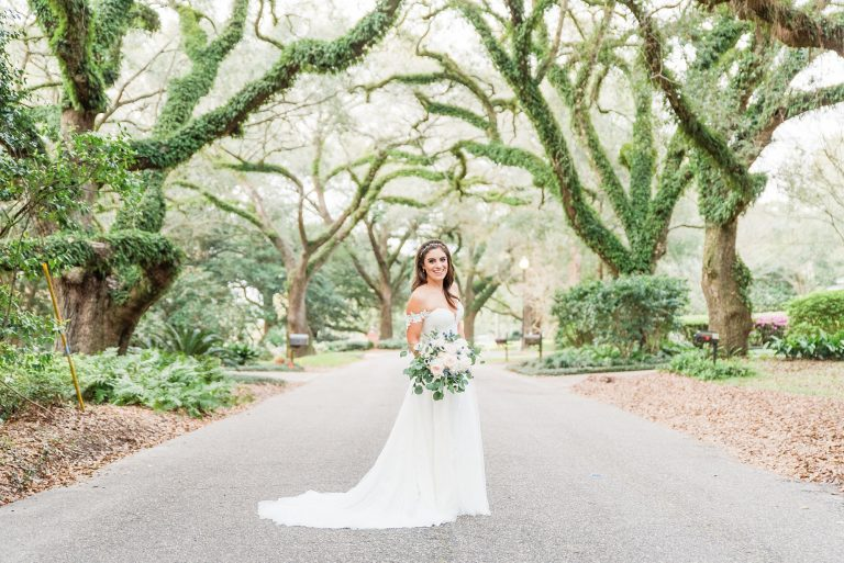 Alabama bridal portraits with Goodie and Smith Weddings