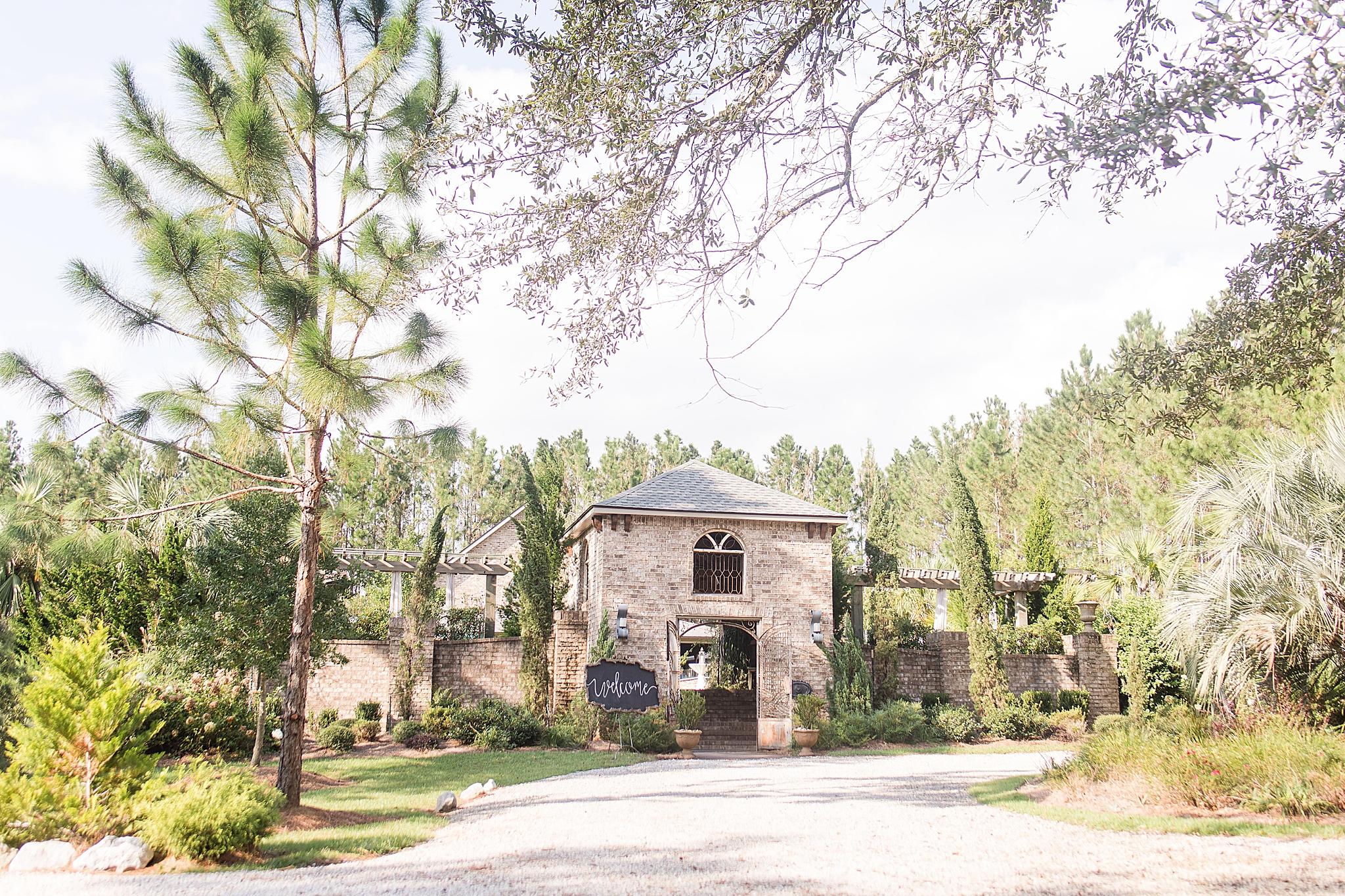 Bella Sera Gardens wedding venue in Loxley Alabama