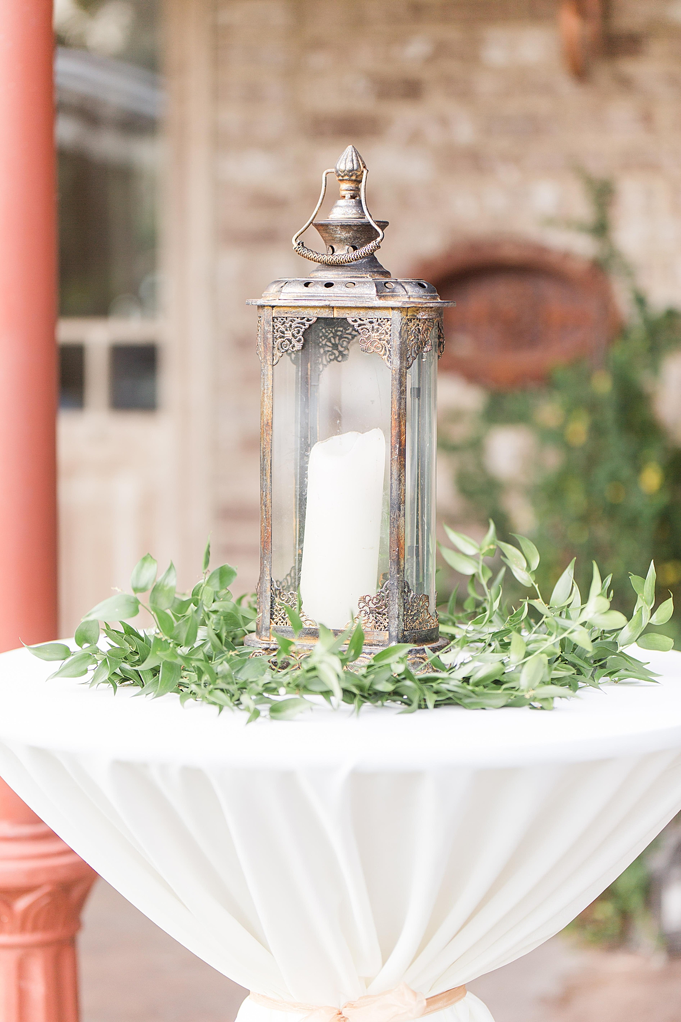lantern table decorations for wedding reception