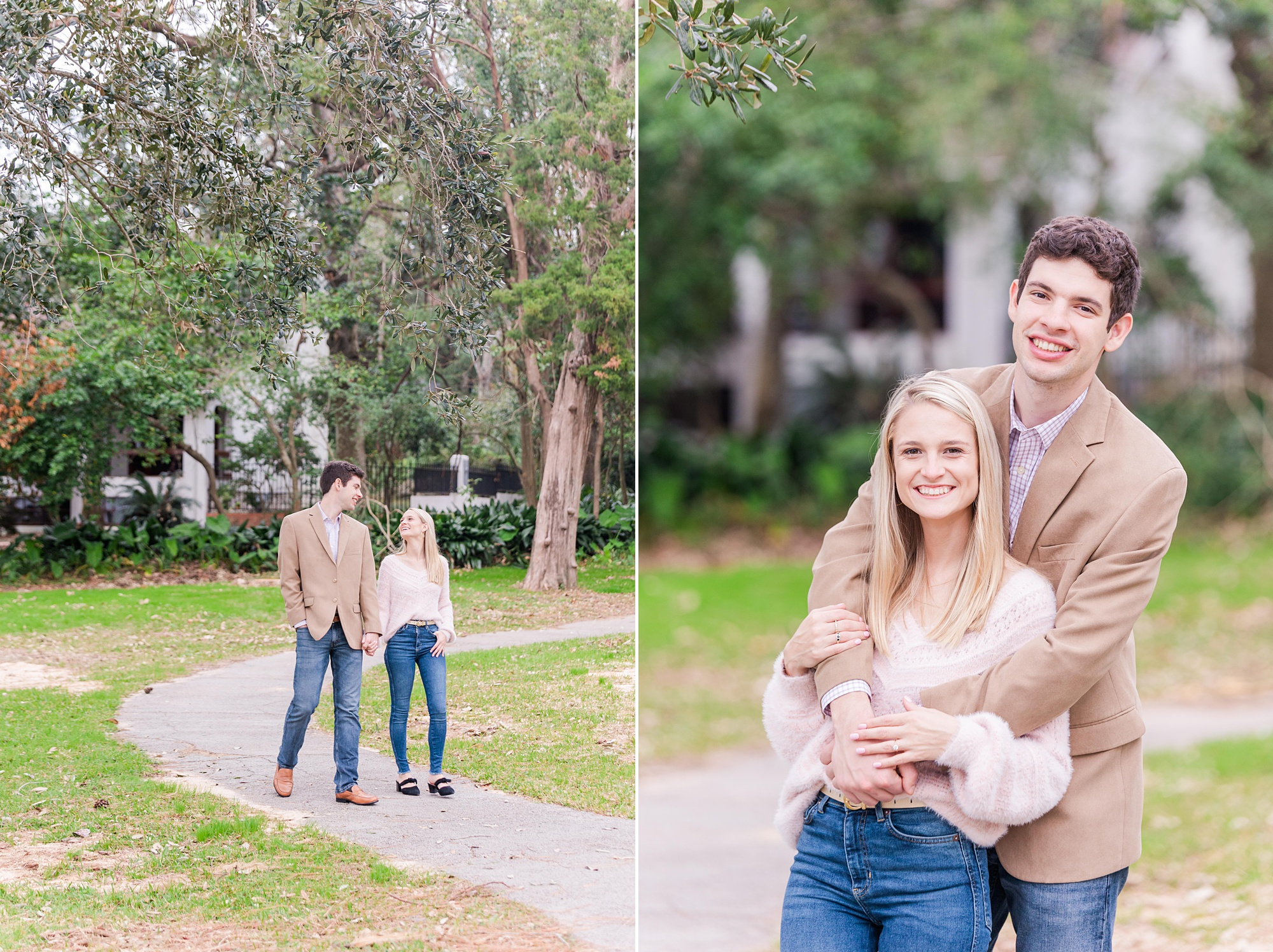 romantic Mobile Bay engagement session with Goodie & Smith Weddings