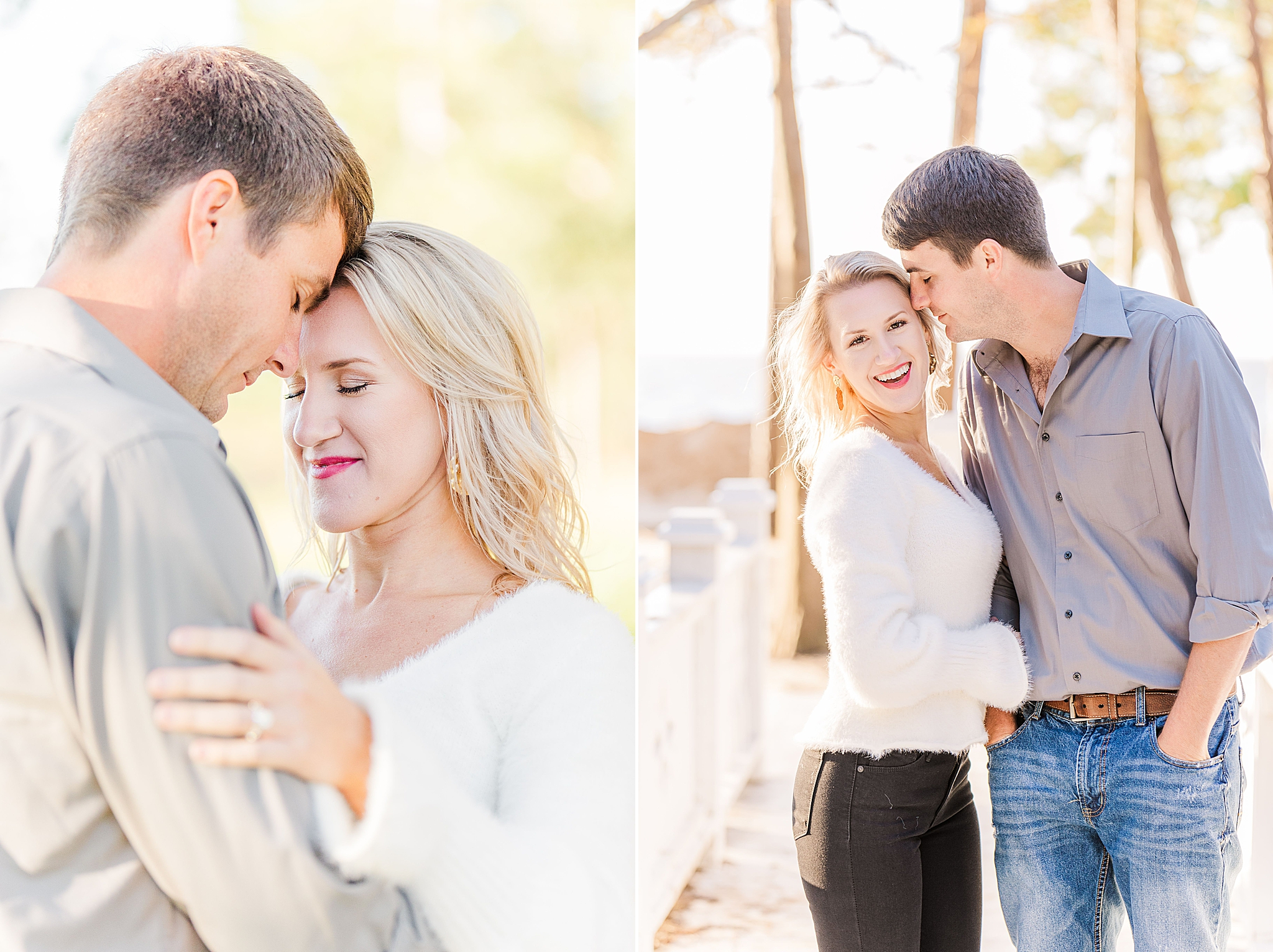 Orange Street Pier engagement session with Goodie and Smith Weddings