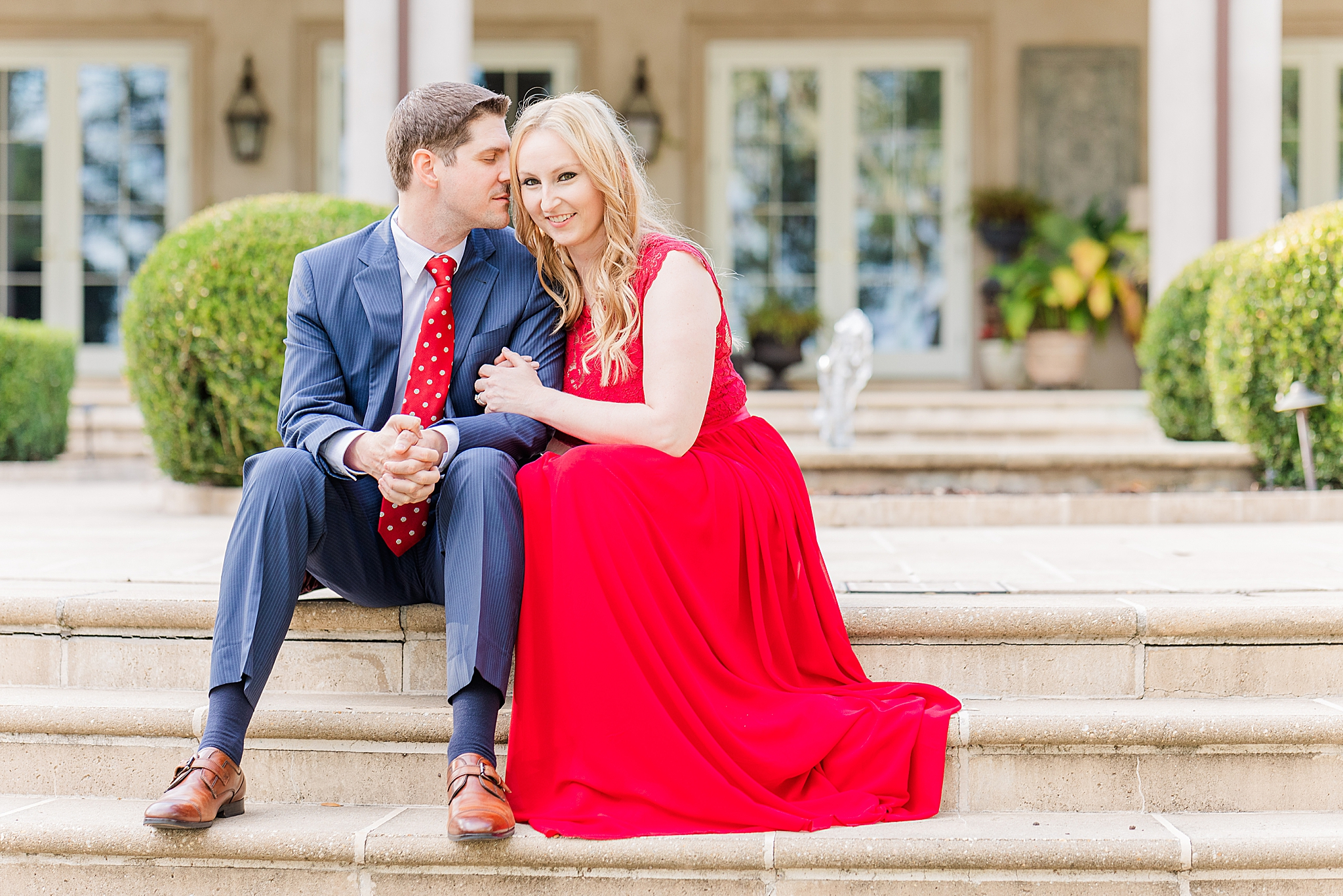 romantic Mobile engagement photos in Spring Hill
