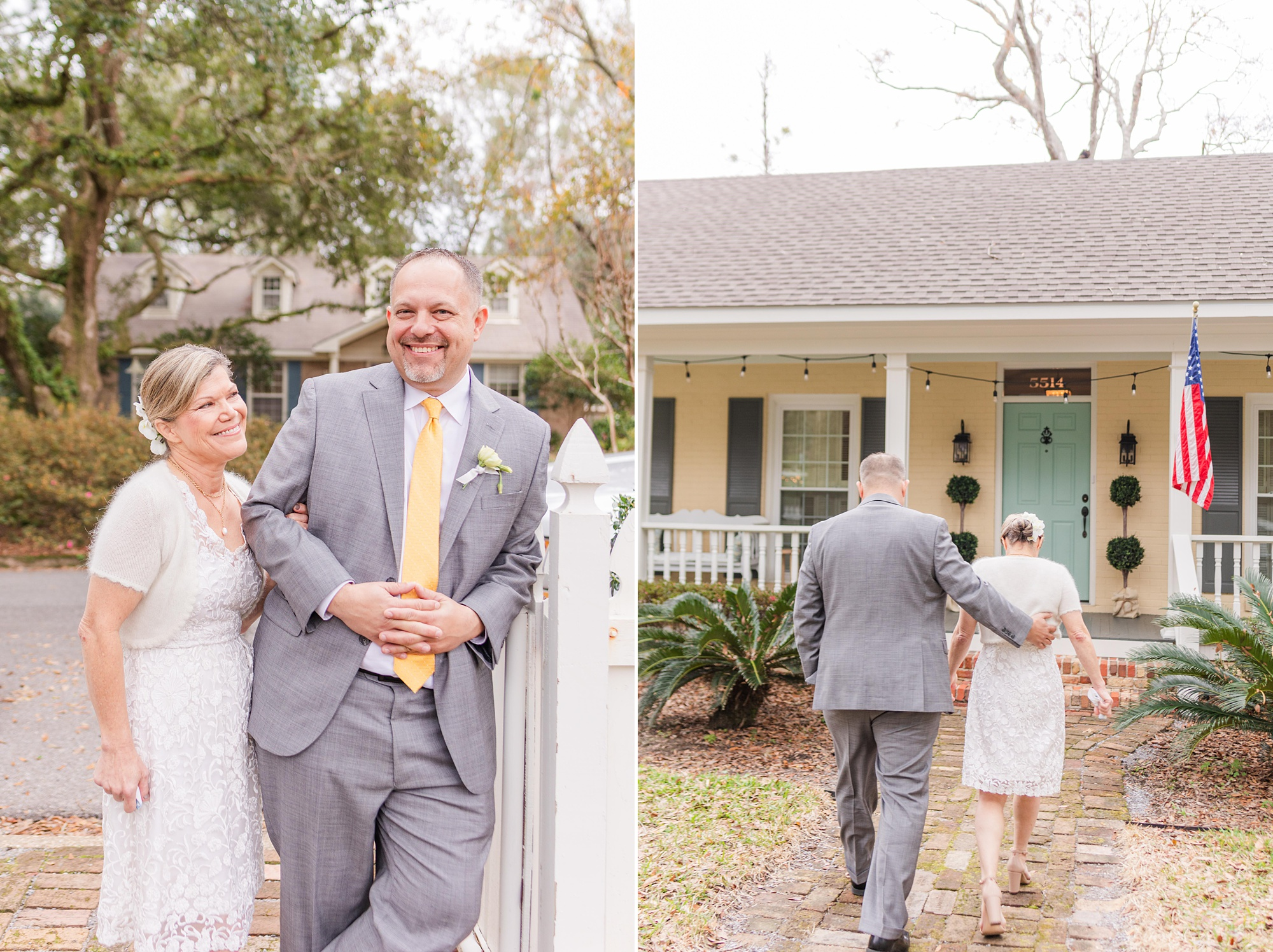 intimate Mobile AL wedding portraits in Spring Hill