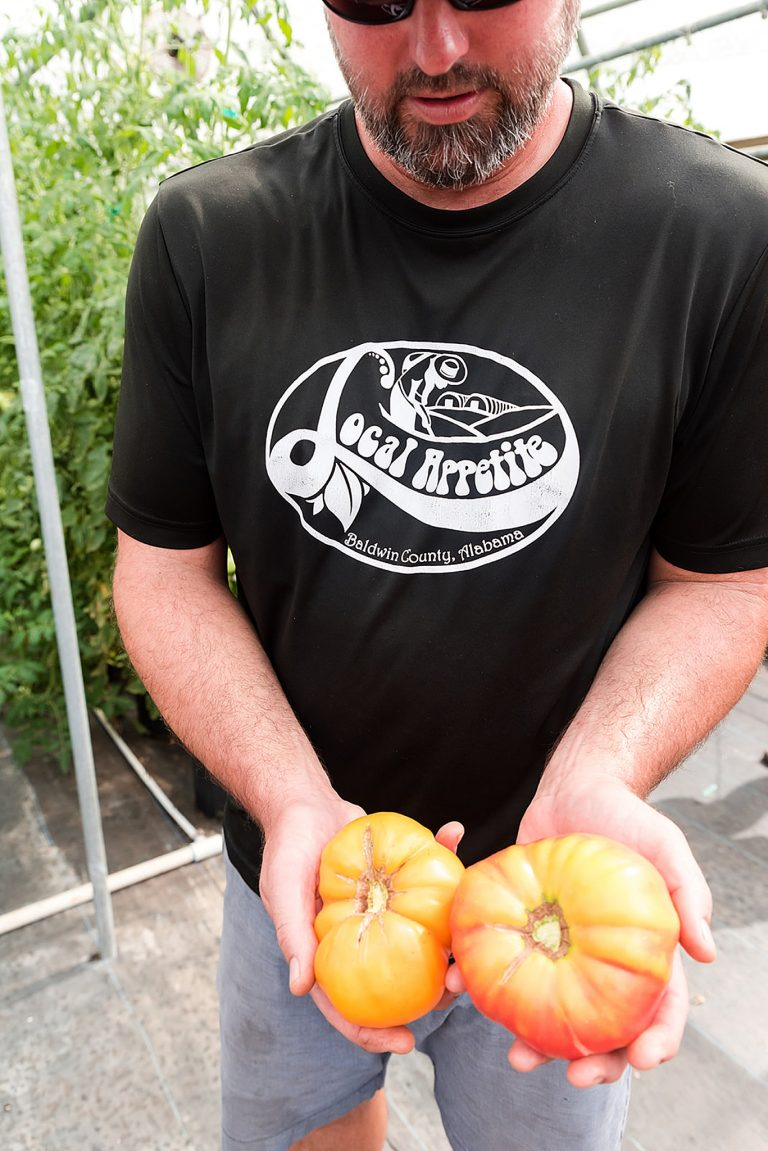 Local Appetite farmer shows off tomatoes