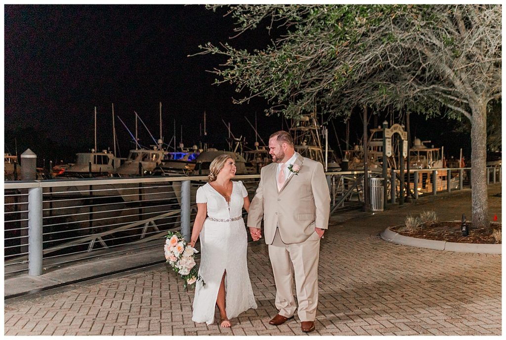 night portraits at the wharf orange beach