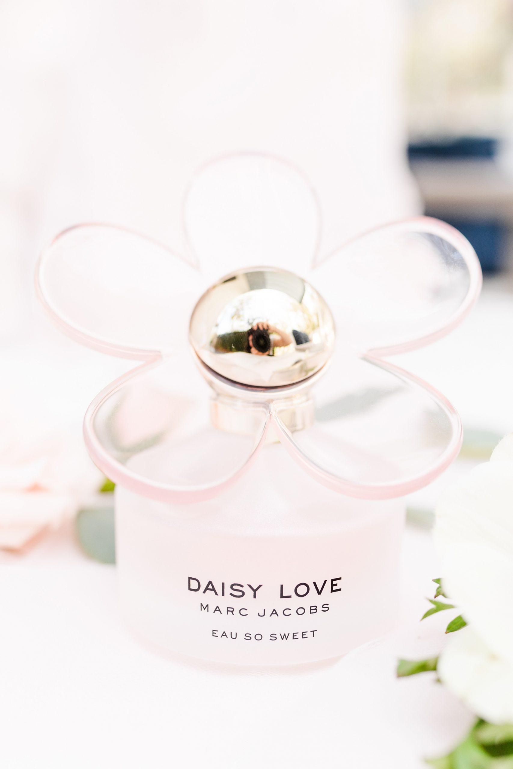 bride's perfume for Alabama wedding day