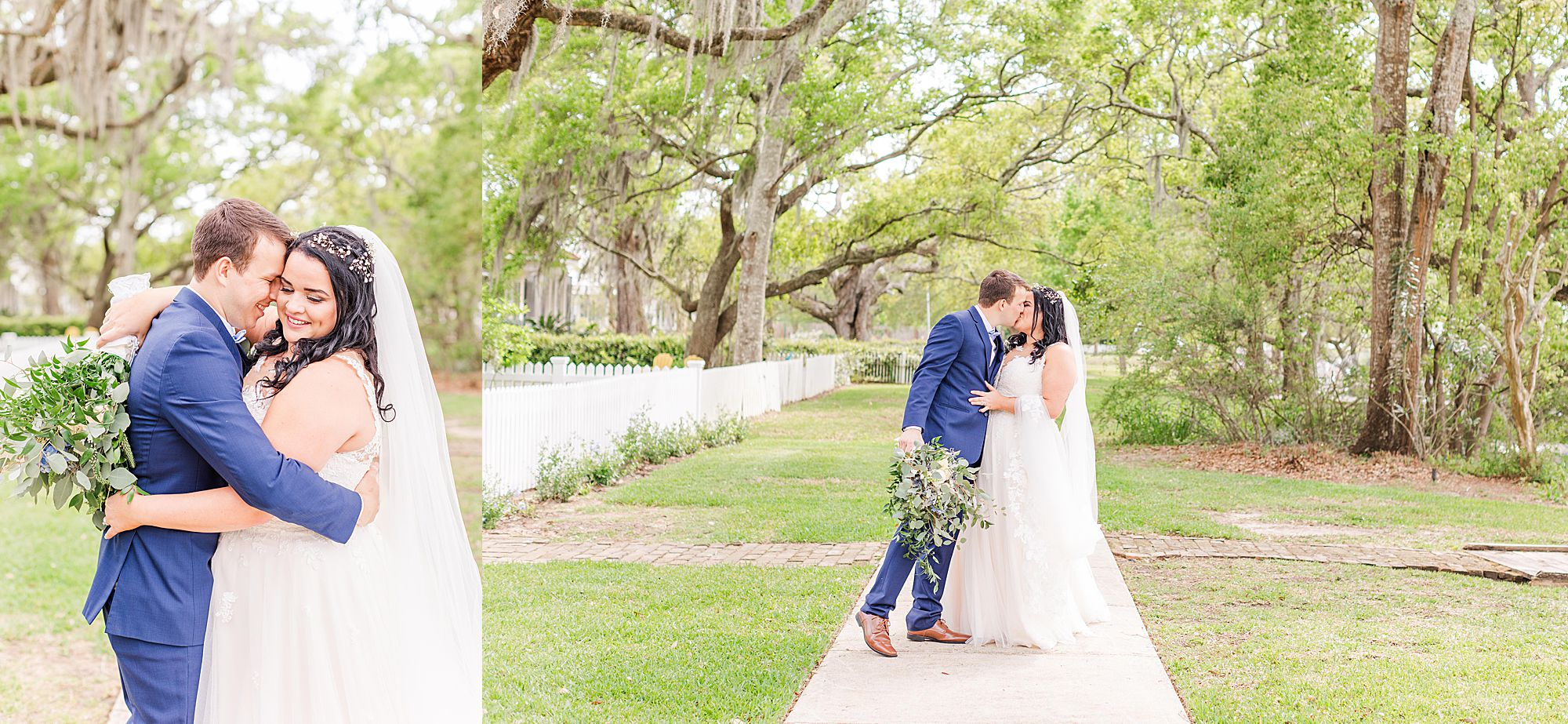 bride and groom portraits