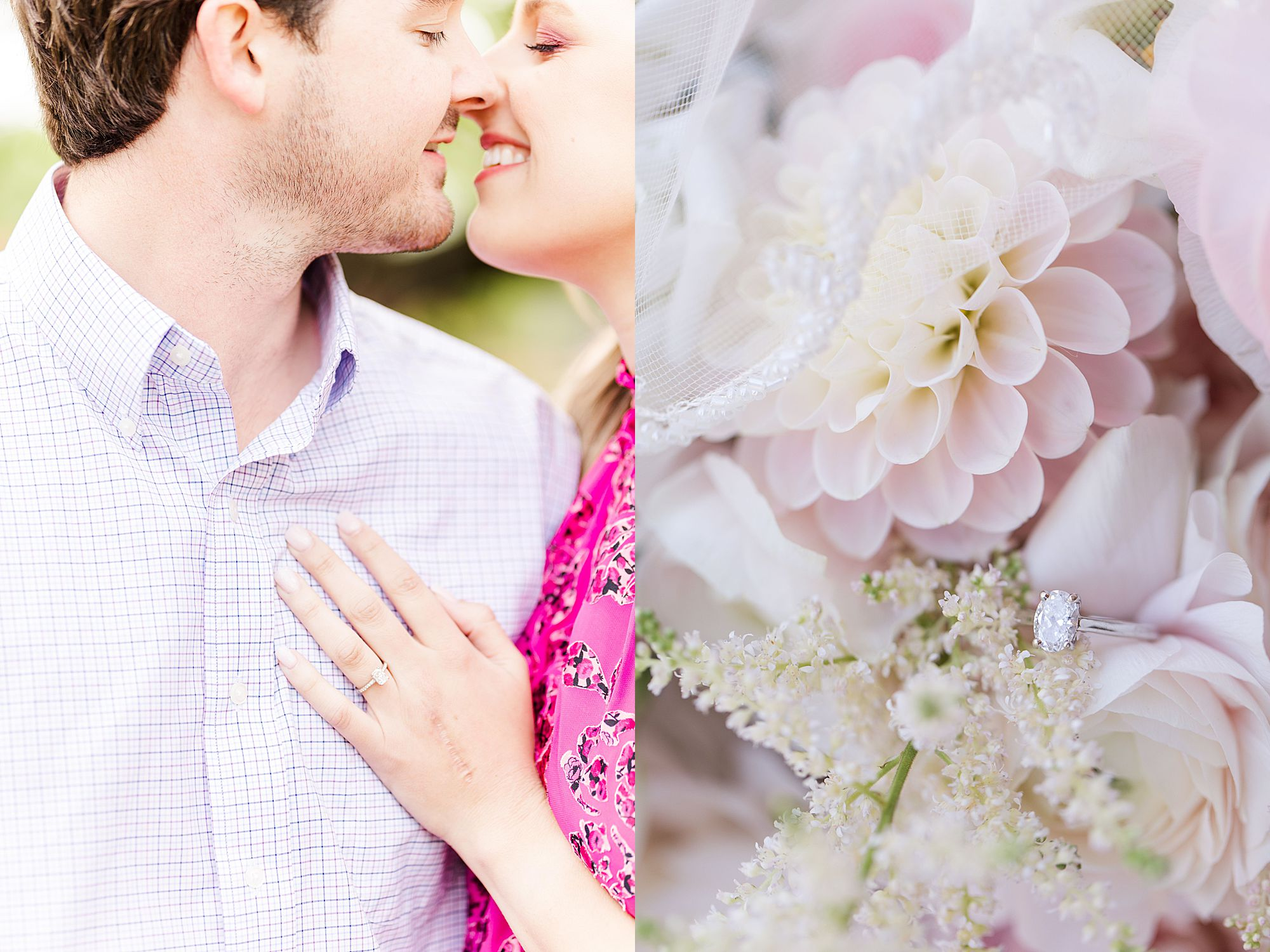 engagement ring photographed by Goodie and Smith Weddings