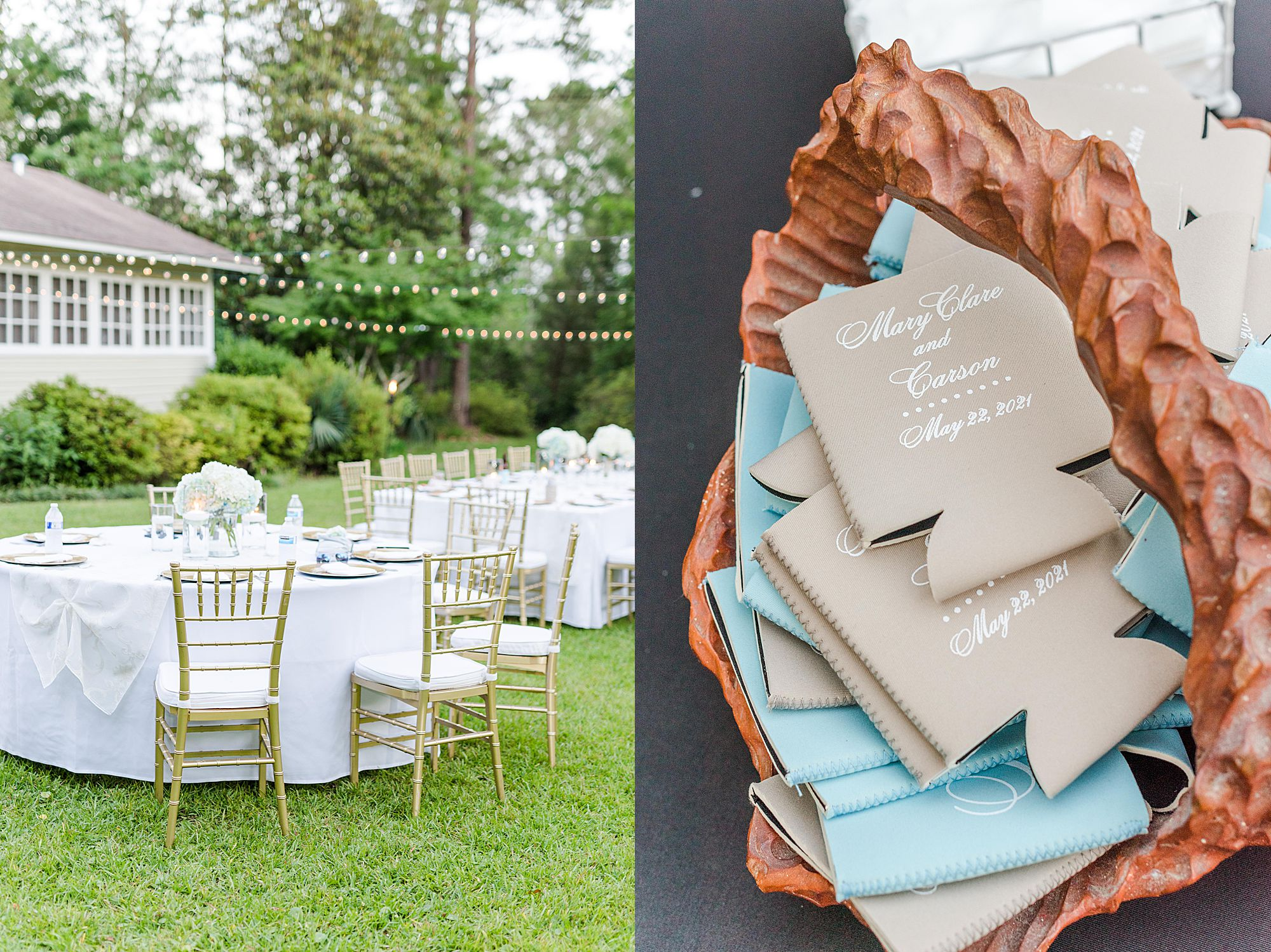 southern outdoor wedding inspiration